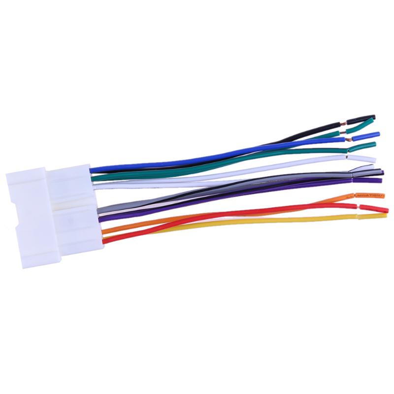 Super Promo #4544 Car Stereo CD Player Wiring Harness Radio ... on 2005 chrysler 300 wiring harness, 2005 chrysler crossfire wiring harness, 2001 dodge dakota wiring harness, 2010 jeep wrangler wiring harness, 2005 ford f250 wiring harness, 2006 dodge dakota wiring harness, 2005 chevy equinox wiring harness, 1996 dodge dakota wiring harness, 2003 hyundai elantra wiring harness, 2005 chevy impala wiring harness, 2008 hyundai santa fe wiring harness,