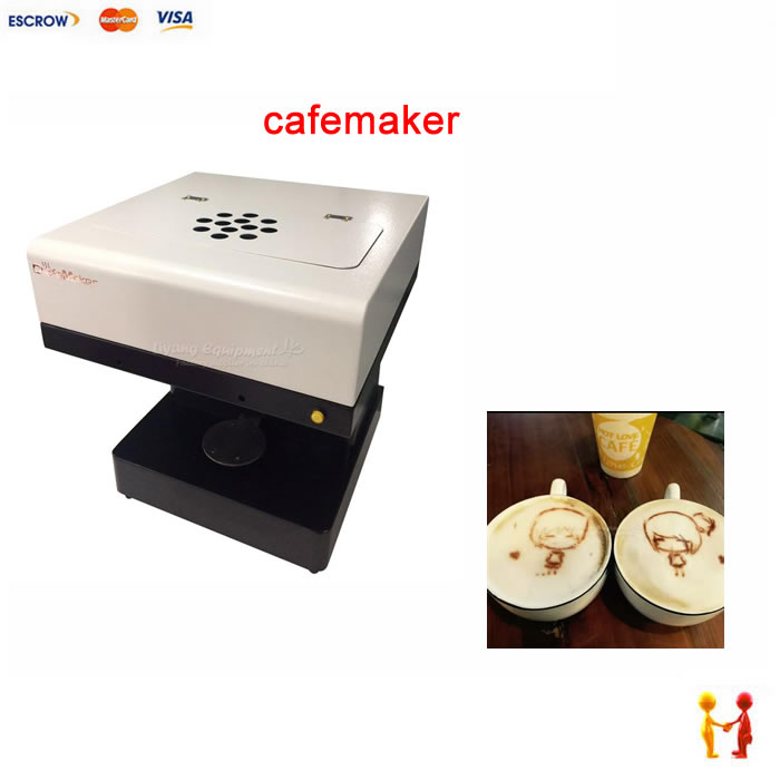 cafemaker Coffee Printer Milktea pictures Printing machine for home or office 220V 110V