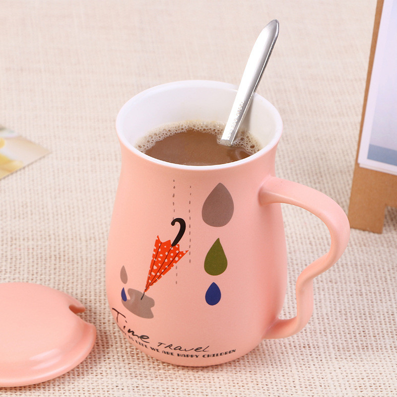 The Coffe Cup And Mugs Personality Coffee Milk Juice Wine Beer Cup Fun Porcelain Tea Cup Zakka Tumbler for Children Friend Gifts
