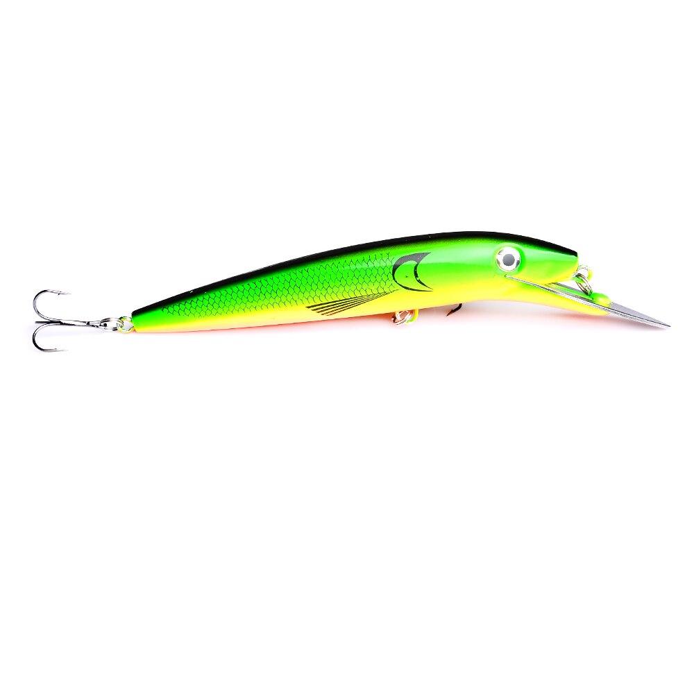 1pcs 20cm 45g Fishing Lure Large Minnow Artificial 3D Eyes Hard Baits with Hooks Tackle Senuelos de pesca