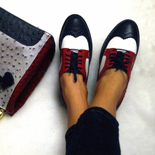 Женская обувь на плоской подошве кожаные туфли-оксфорды для Для женщин женские Размер 11 дизайнер Винтаж без каблука Обувь круглый носок ручной работы белый CREEPERS