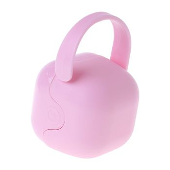 Baby Pacifier Box Storage Case Handle Newborn Soother Container Portable Clean Travel Holder Kids Children Dust Proof 1