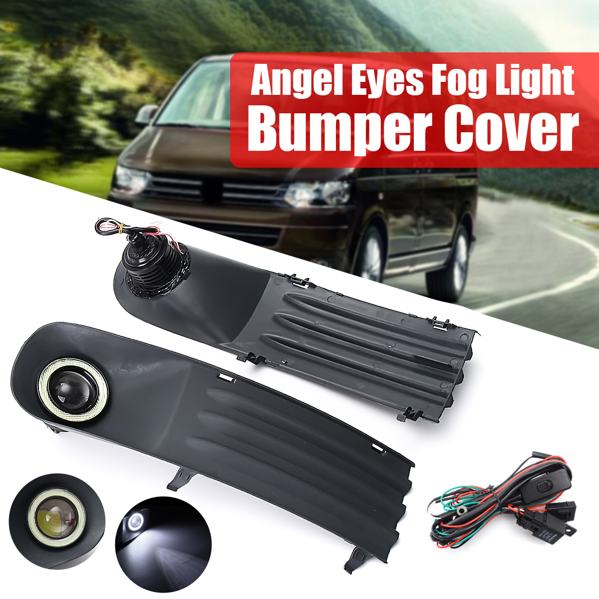 [WRG7447] Angel Eyes Wiring Harness Kit