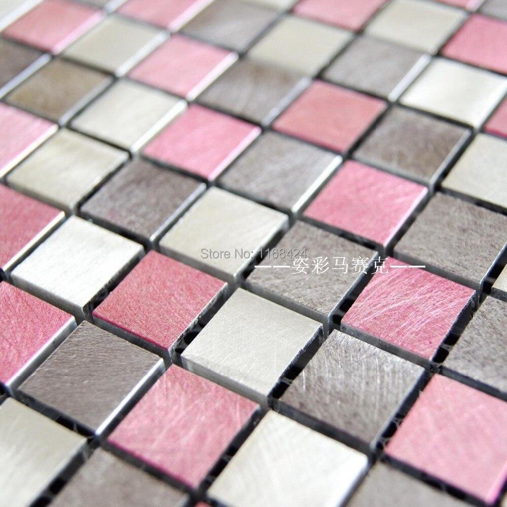 Fliesen Mosaik Rosa Stock Photo
