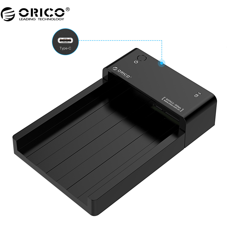 ORICO 6518C3 2 5 3 5 inch Haed Drive Dock with USB3 1 Type C Port