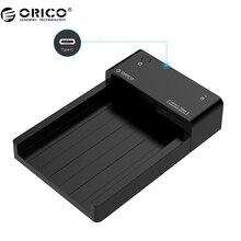 ORICO 6518C3 2.5/3.5 pulgadas Haed Dock con USB3.1 Tipo-c Puerto, 12 V Adaptador de Corriente (No incluye DISCO DURO)