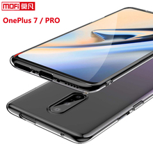 Oneplus 7 pro case cover 1+7 silicon soft ultra thin funda mofi transparent back clear coque