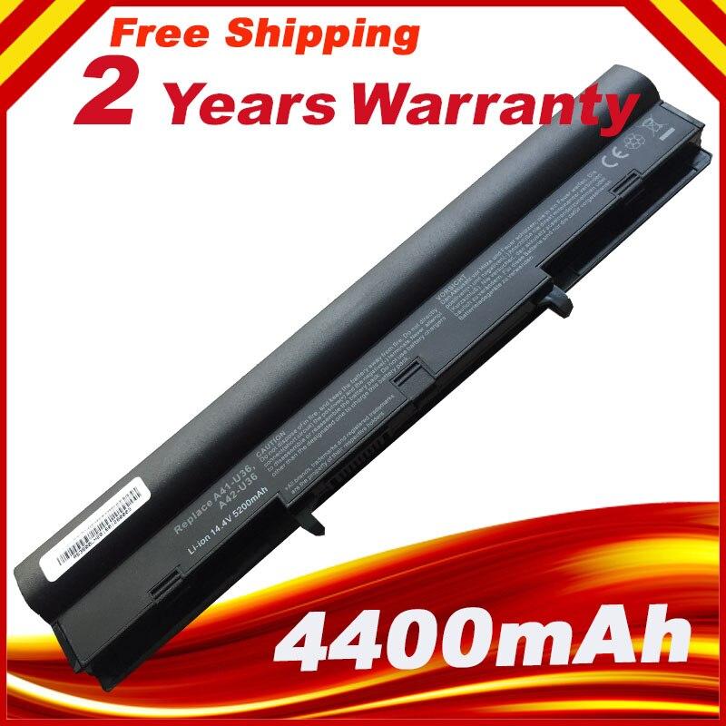 8 cells Laptop Battery for ASUS U36 U36J U36JC U36S U36SD 4INR18/65 4INR18/65-2 A41-U36 A42-U36