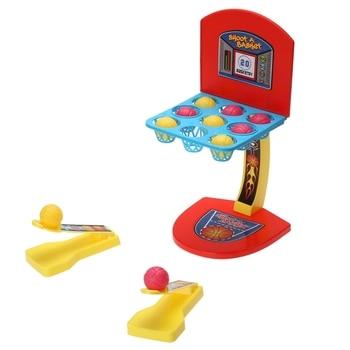 Máquina de baloncesto plegable, escritorio, bola, dedo, baloncesto, estante plegable, palma, Mini juego de baloncesto, juego para niños, Juguetes