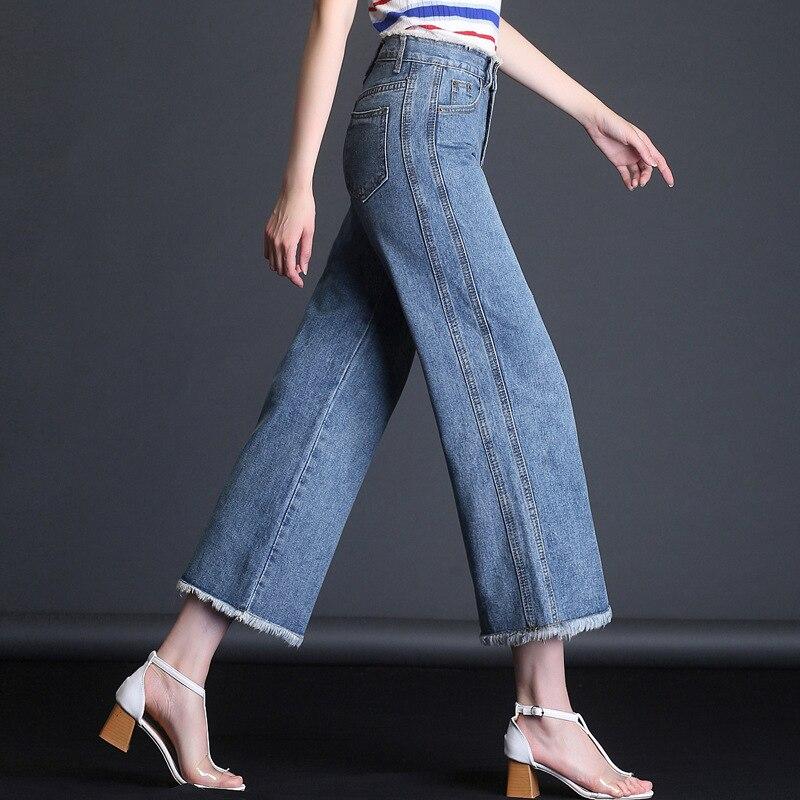 Мама плюс бархатные женские джинсы толстые теплые с высокой талией брюки ковбойские брюки стрейч джинсы брюки зимние узкие 2SS101-114