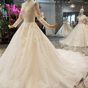 Image 5 - AIJINGYU Wedding Dresses Bridal Gown Vintage Lace Off the Shoulder India Plus Size Modest Gown Vintage Bride Dress