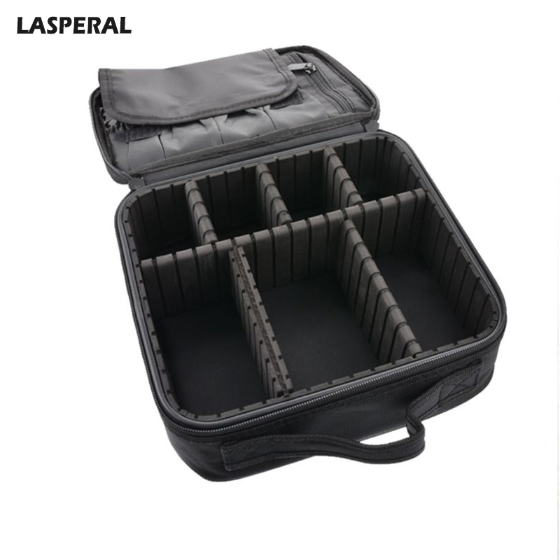 LASPERAL Multi-function Professional Cosmetic Bag Portable Make Up Case Storage Bag Hand Tattoo Nail Toolbox Organizers