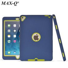 NEW For Apple ipad pro 9.7 inch case Amor Heavy Shockproof Rubber&Plastic cover Drop resistance tablet Case for ipad air 2/6