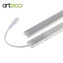 2PCS DC12V Touch Sensor LED Bar light Dimmable 50cm Ultra thin LED Tude Hard strip light white/warm white