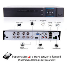 1080N 5 in 1(Compatible TVI,CVI,AHD,DVR,IPC) CCTV DVR H.264 Security Surveillance Video Record Smartphone PC Easy Remote Access