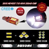 2015 Newest Style 2x T15 W16W 921 High Power Car Turn Singal Width 3rd Brake Light