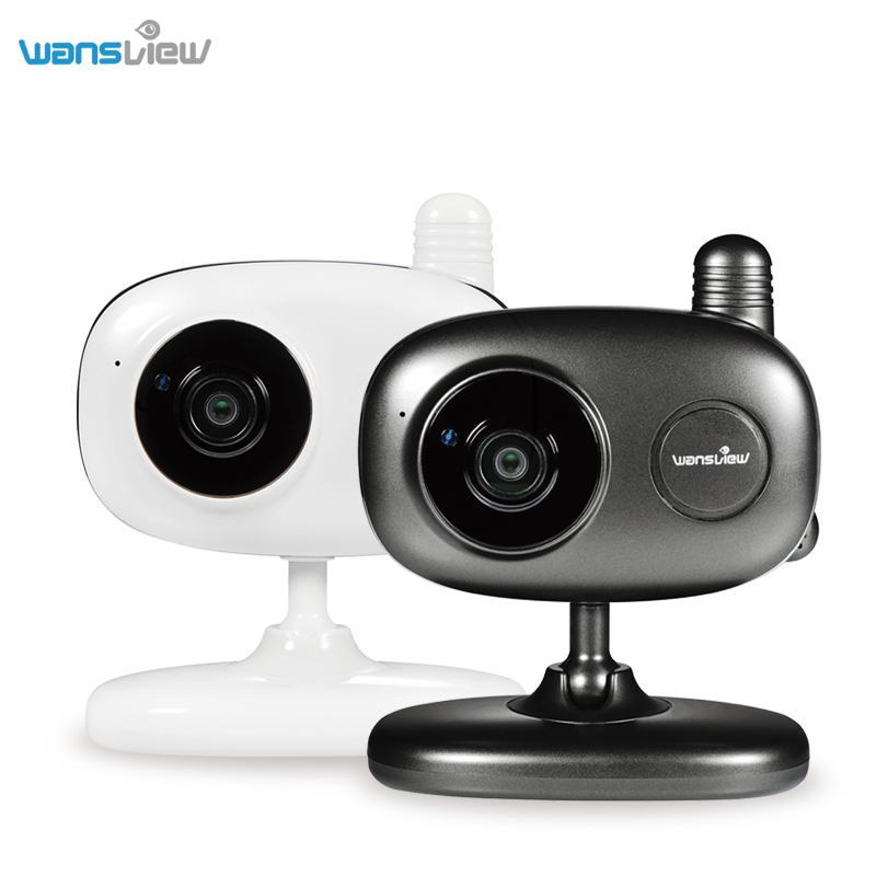 Wansview HD 1080P WiFi Wireless IP Security Camera with Two-Way Audio Night Vision,Baby Monitor,Temperature and Humidity Sensor