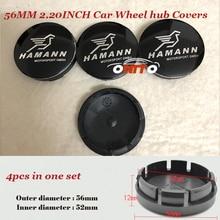 4pcs/lot 56mm 2.20inch car emblem Rims badge wheel hub center caps for BMW E60 E90 F10 F30 F15 E63 E64 E65 E86 ABS Car Covers
