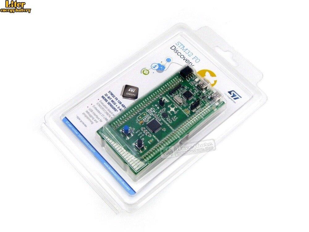 ST Original MB 1076 C-01 STM32 F0 Discovery Board,STM32F072B-DISCO, For STM32F0 Series-with STM32F072RB MCU, Embedded ST-LINK/V2