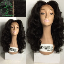 Body wave lace front wig glueless full lace human hair wigs with baby hair Brazilian unprocessed virgin hair wig for black women