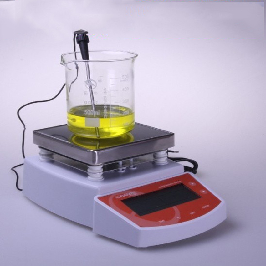 1 PZ Digital Termostatico Hot Plate Magnetic Stirrer Mixer MS400 temperatura display Digitale agitatore magnetico