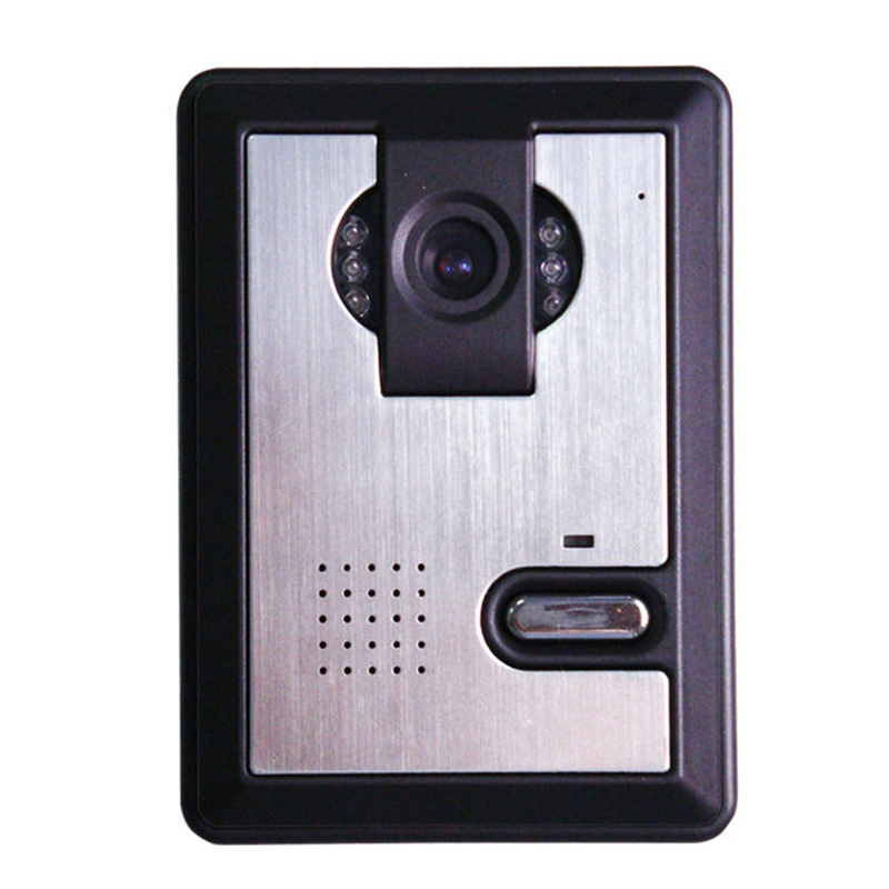Free Shipping Wired Video Doorbell Intercom 700TVL Waterproof Outdoor IR Camera Speakerphone Video Door Phone Intercom SystemFree Shipping Wired Video Doorbell Intercom 700TVL Waterproof Outdoor IR Camera Speakerphone Video Door Phone Intercom System