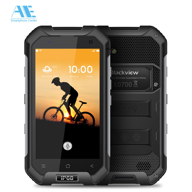 Цена за Blackview BV6000 IP68 Водонепроницаемый Мобильный Телефон MTK6755 Окта основные Android 6.0 3 Г RAM 32 Г ROM 4.7 дюймов Мобильный Телефон 4 Г LTE смартфон