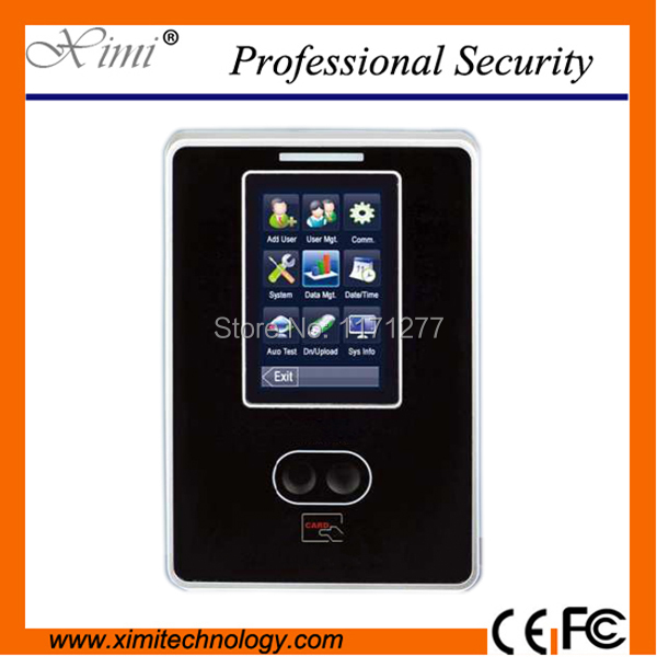 New arrival hot quality TCP/IP VF300 free sdk touch screen world time clock face card time attendance employee attendance