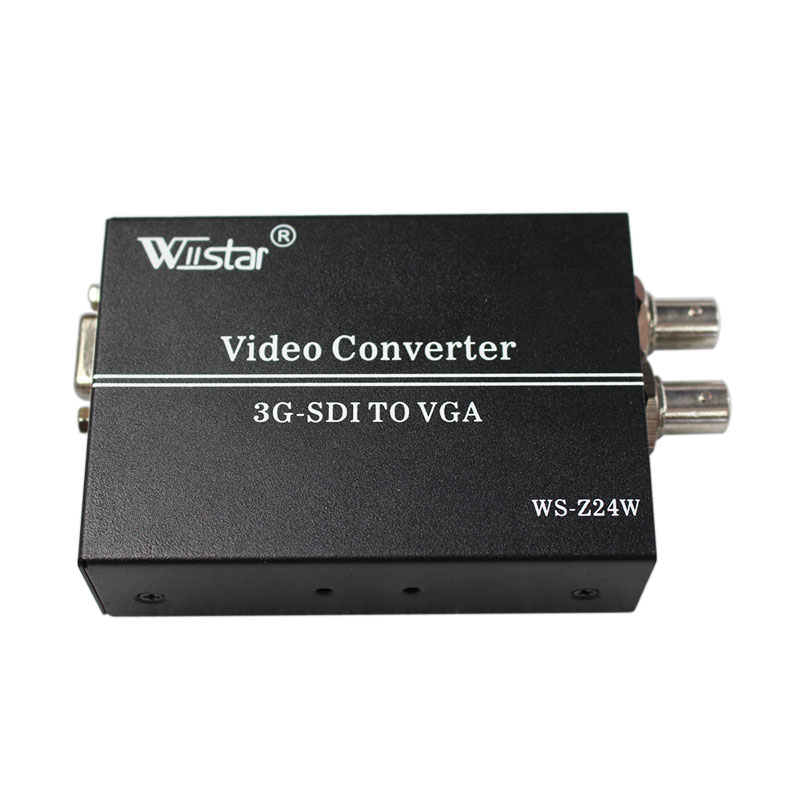 Wiistar SDI TO VGA Converter BNC HD 3G SDI to VGA 1080P+ Audio Scaler Converter SMPTE 425M 424M 292M DH tea maker black pu er glass electric kettle steam teapot automatic type set
