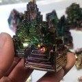 Красивый минеральный образец Радуга висмута образец кристалла руды заживляющий минерал натуральный кристалл грубый Бисмут руды Зеленый м...