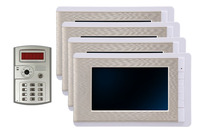 7 Inch Wired Video Door Phone 4 LCD Display