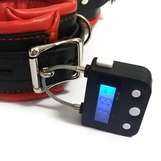 digital time lock bondage safe