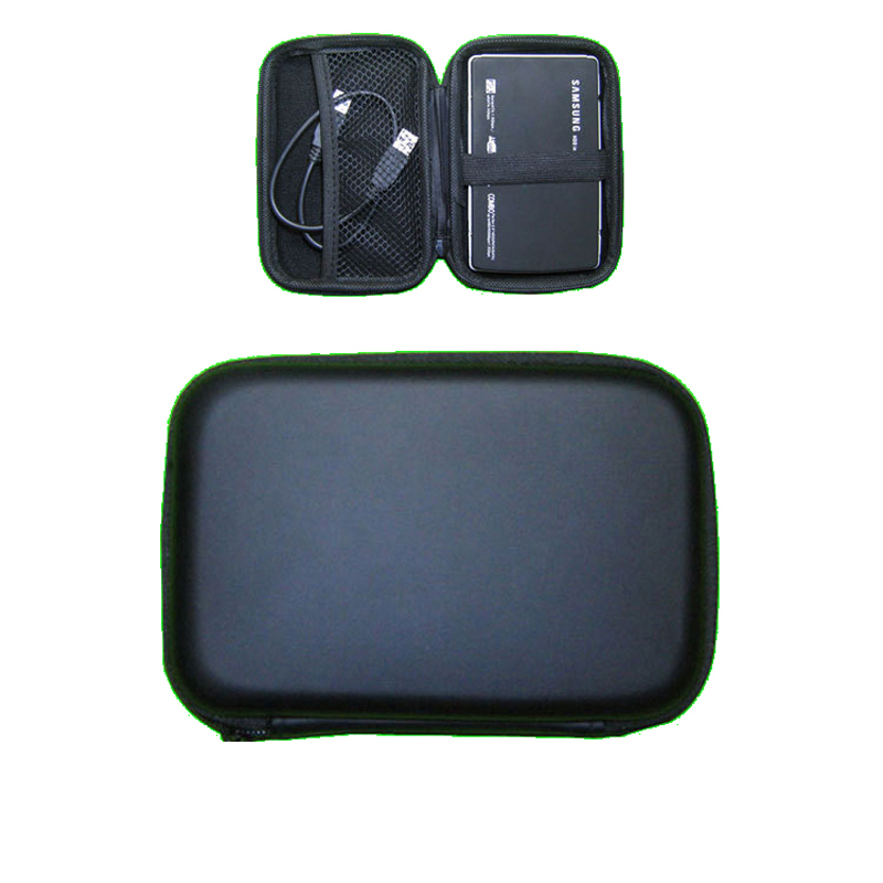 Storage Carrying Hard Bag Box for Earphone Headphone Earbuds 2.5 inch Power Bank