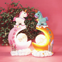 Unicorn Star Lights Baby Night Light Led Unicorn Decoration Bedroom Star Lamp Kids Girl Gift Home Decor Accessories Dropshipping