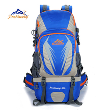 Outdoor backpack 50L Waterproof Travel Backpack Camping Hiking men Rucksack Sports Climbing Bags New 2017 Backpack