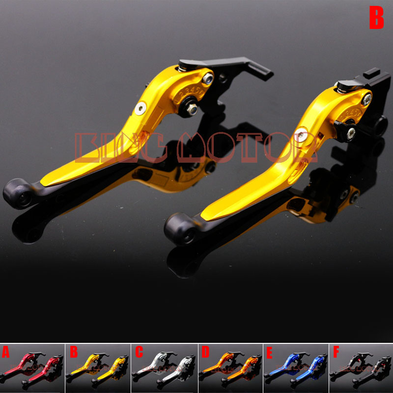 Motorcycle Accessories Adjustable Folding Extendable Brake Clutch Levers For YAMAHA YZF-R25 2014-2015 YZF-R3 2015 YZFR25 R3 Gold