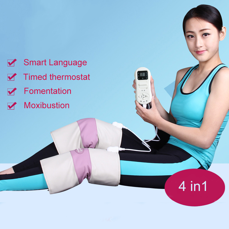 Far Infrared Hot compress Kneepad Old Cold Legs Warm Rheumatism, Joint Moxibustion Physiotherapy Knee Treatment far