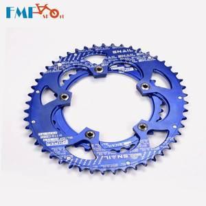 Улитка BCD 110 мм 35/50T овальная Двухдисковая цепь, MTB складной горный и дорожный велосипед, цепь, кольцо, ремонтная цепь, цепь, катушка