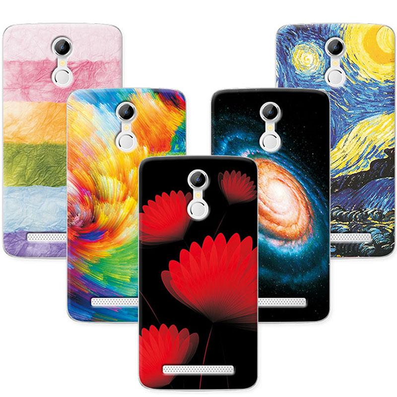 Soft TPU Coque For Homtom HT17 Case Cover Scenery Painting Phone Cases For Doogee Homtom HT17 Fundas Case For Homtom HT17 Pro