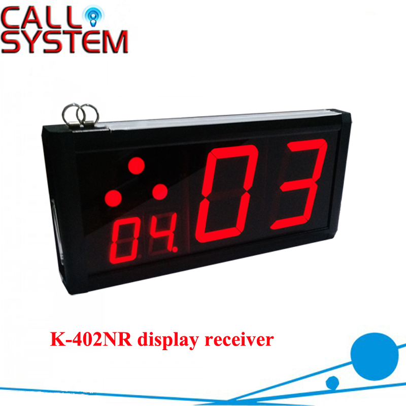 Wireless Service SystemReceiver K-402NR ; Can show service type and Show how many next coming calling все цены