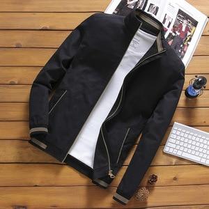 Image 4 - NaranjaSabor Jassen Heren Pilot Bomber Jas Mannelijke Mode Baseball Hip Hop Streetwear Jassen Slim Fit Jas Merk Kleding N514