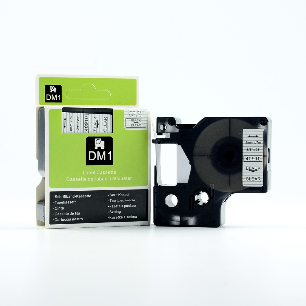 30PK compatible DYMO D1 tape cartridge 40910 for dymo labelmanager label printer