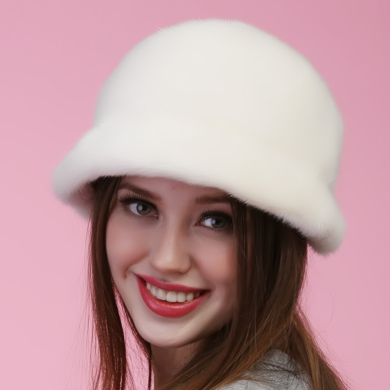 7574550951c 2015 autumn winter Super warm below zero show women real fur lovely Russian  style cap vintage lady luxur fur hat famous band new-in Bomber Hats from  Apparel ...