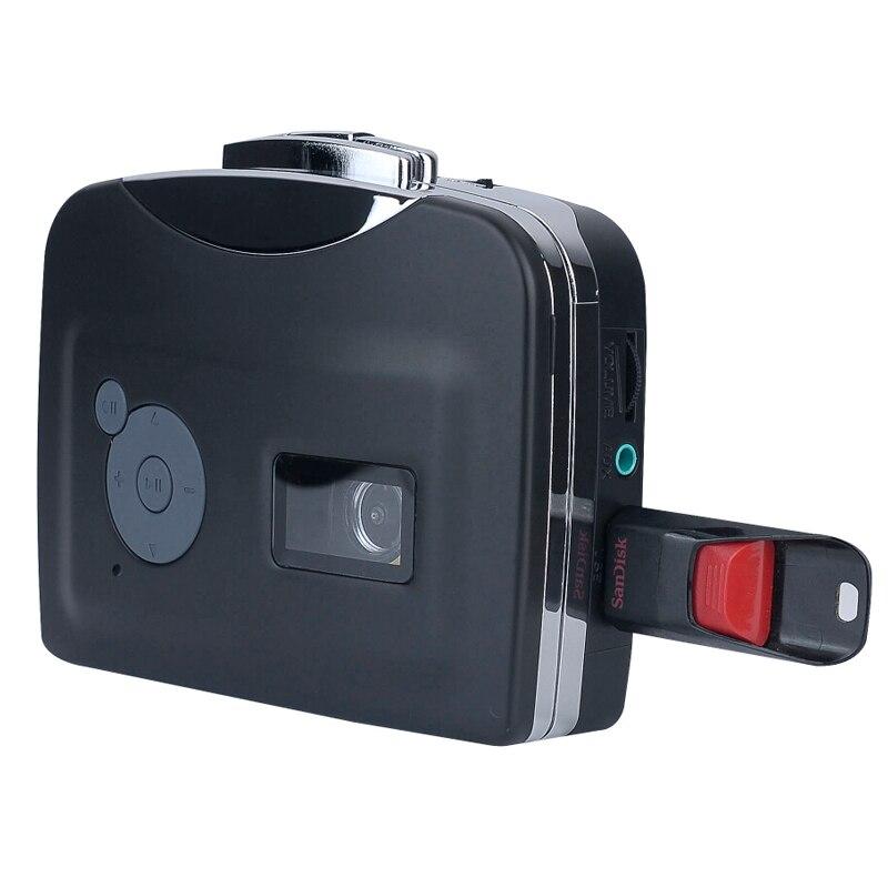 Cassette à mp3 converter capture dispositif, convertir vieille bande cassette à mp3 en USB Flash Disque directement pas besoin de pc.