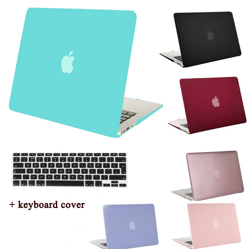 huge discount 8a98a 52d7a US $9.99 |MOSISO Clear Matte Case Cover for Macbook Air 13 11 Plastic Hard  Case for Mac book Pro 13 15 Retina Laptop Shell+Keyboard Cover-in Laptop ...