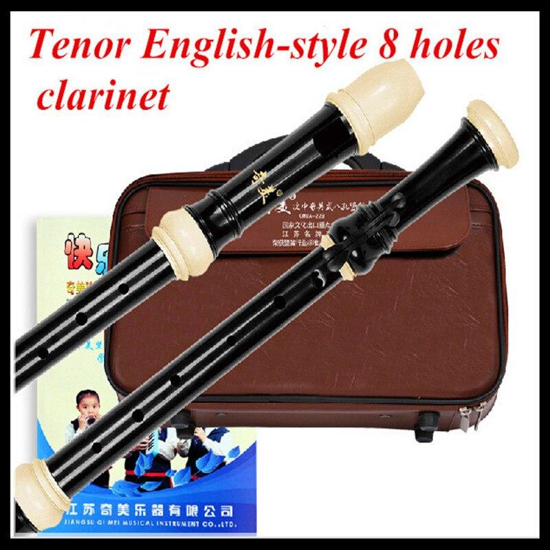 Tenor Clarinet  English-style 8 Holes C key Flute Dizi Istrumento Musical Flute Professional Flautas C Clarinet Tenor Clarinet on stage sxs7101b alto tenor saxophone stand with flute clarinet peg 2 pack