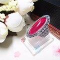 girlfriend gift Princess 925 Sterling silver red Bangkok Natural semi-precious stones jewelry Red Garnet Rings girls bohemia