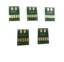 einkshop 5PCS ARC CHIPS For CANON IP7250 MG5450 MX925 MG5550 MG6450 MG5650 MG6650 IX6850 MX725 MX925 PGI-550 CLI-551