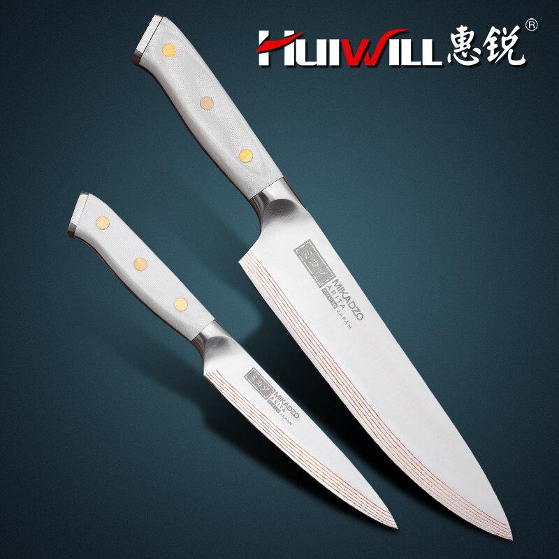 2018 nouveau Super qualité 21 couches japonais cuivre damas en acier au carbone Chef couteau utilitaire cuisine couteau ensemble