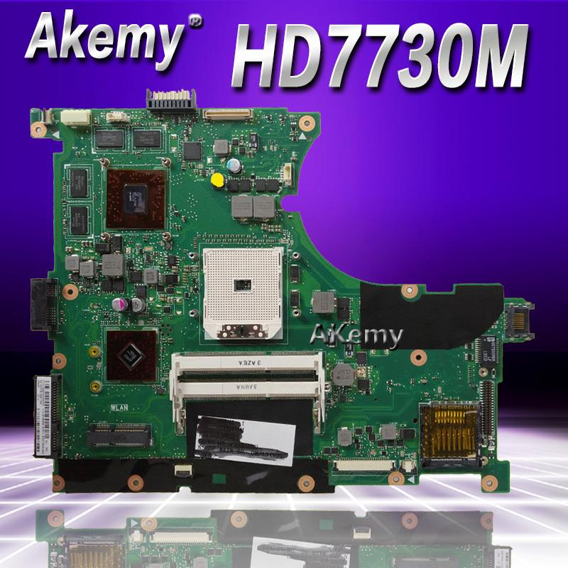 Akemy N56DP Laptop motherboard HD7730 2GB for N56DP N56D Test mainboard N56DP motherboard test 100% okAkemy N56DP Laptop motherboard HD7730 2GB for N56DP N56D Test mainboard N56DP motherboard test 100% ok